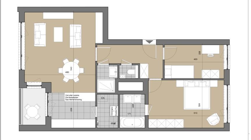 Appartement - Ukkel - #3743926-13